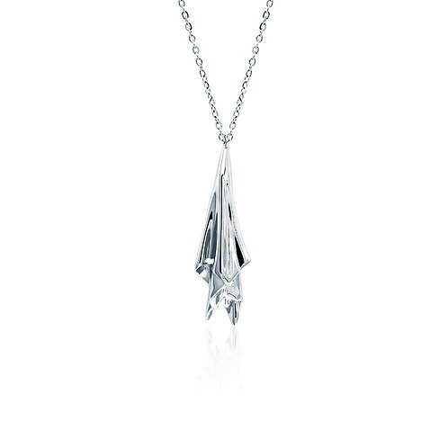 Handkerchief Necklace | Silver