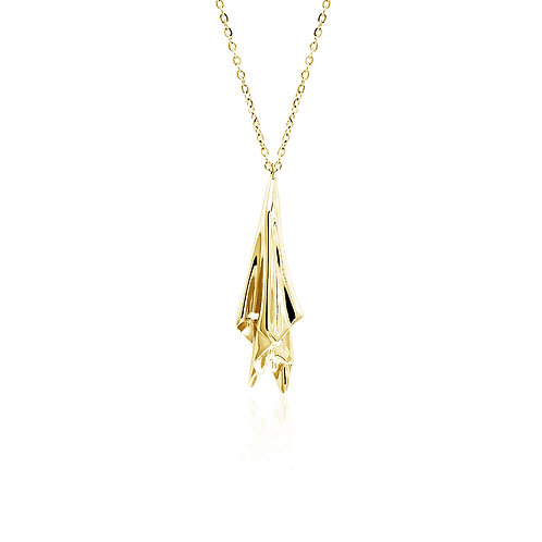 Handkerchief Necklace | Gold