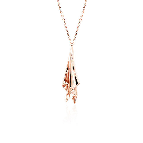 Handkerchief Necklace | Rose Gold