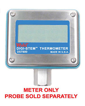 DST600 Digi-Stem® Digital RTD Thermometer - Meter Only - Probe Sold Separately