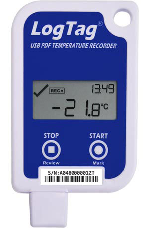 UTRED-16 – USB PDF EXTERNAL PROBE TEMPERATURE LOGGER