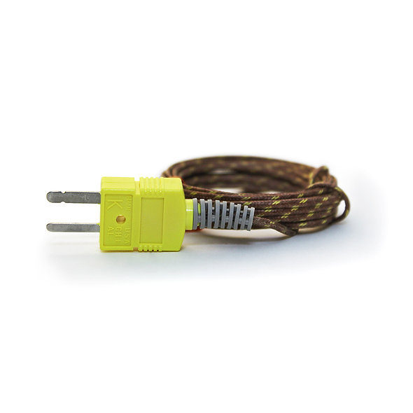 24 AWG Glass Braided Thermocouple