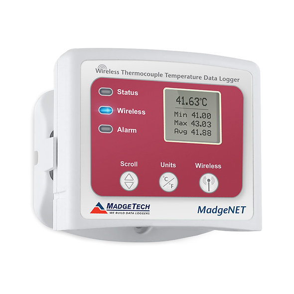 RFTCTemp2000A wireless thermocouple-based temperature data logger