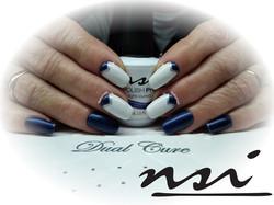 I LOVE BLUE NAILS NATURVELL