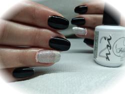 NAIL ART BLACK NATURVELL
