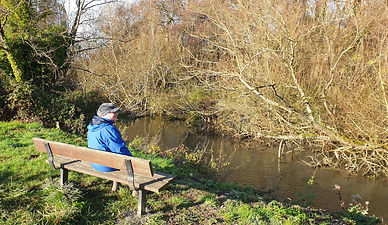 The new Nadder river bench