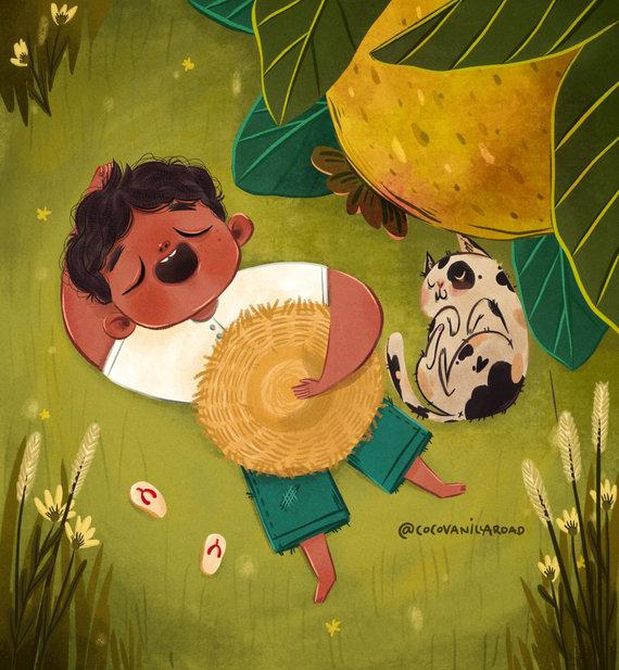 Juan Tamad (Lazy John and the Guava Fruit