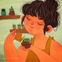 Succulent Lady