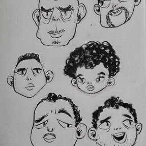 Different Guy Faces