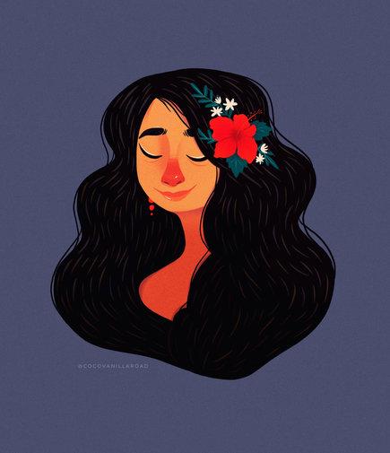 Gumamela Girl