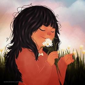Spring time girl