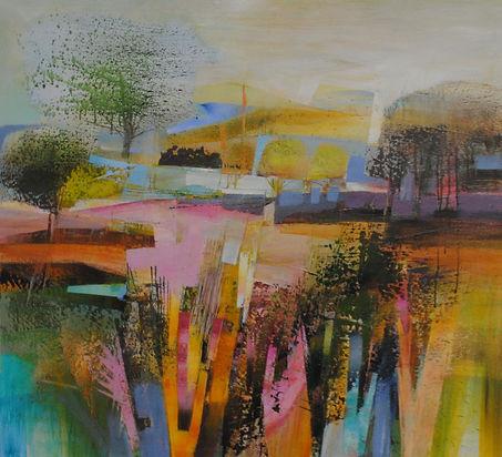 'Parched' Acrylic on canvas 90x100cm.JPG