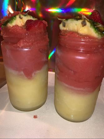 Strawberry/Pineapple Patron