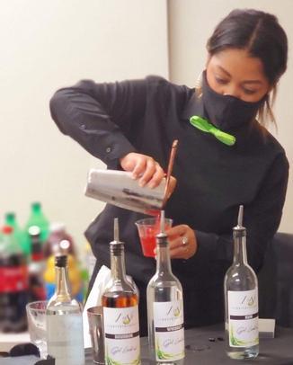 Pour then serve
