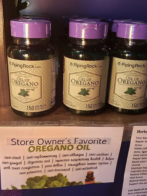 Oregano Oil Capsules 1500 MG