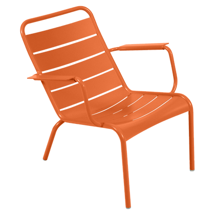 Luxembourg Low Armchair - CARROT