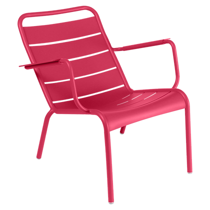 Luxembourg Low Armchair - ROSE PRALINE