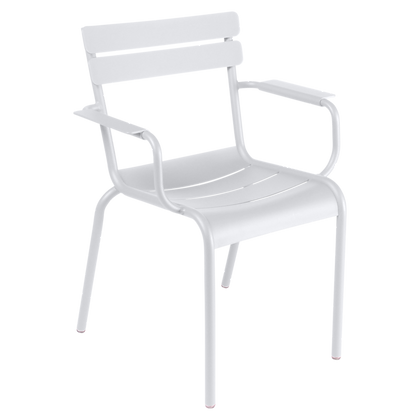Luxembourg Stol m/arm - COTTON WHITE
