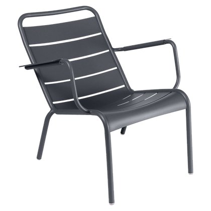Luxembourg Low Armchair - ANTHRACITE