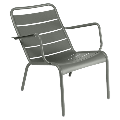 Luxembourg Low Armchair - ROSEMARY