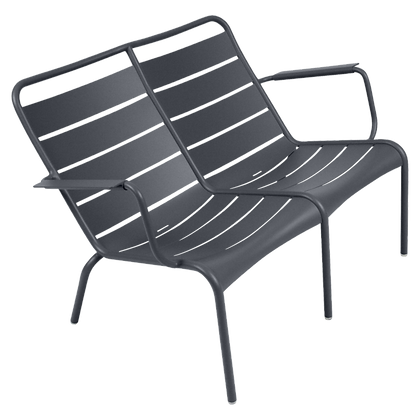Luxembourg Duo Low Armchair - ANTHRACITE