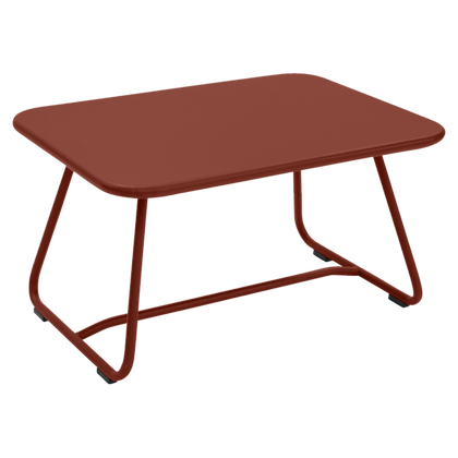 SIXTIES Low Table - RED OCHRE
