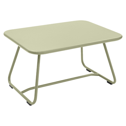 SIXTIES Low Table - WILLOW GREEN