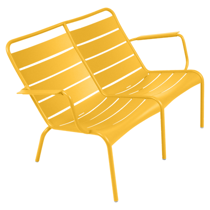Luxembourg Duo Low Armchair - HONEY