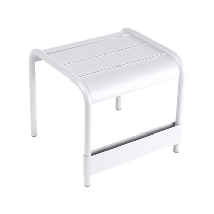 Luxembourg Small Foot Rest - COTTON WHITE