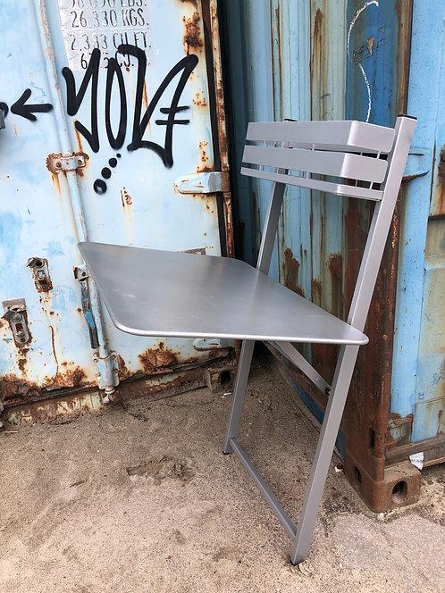 Bistro Balcony Table - STEEL GREY