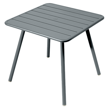Luxembourg Bord 80x80 - STORM GREY