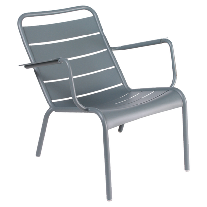 Luxembourg Low Armchair - STORM GREY