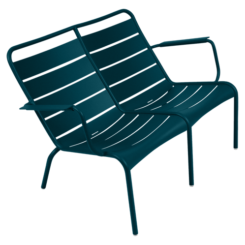 Luxembourg Duo Low Armchair - ACAPULCO BLUE