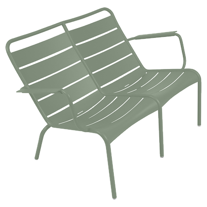 Luxembourg Duo Low Armchair - CACTUS