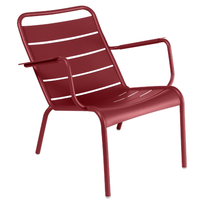 Luxembourg Low Armchair - CHILI