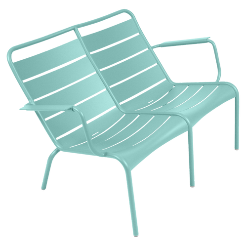 Luxembourg Duo Low Armchair - LAGOON BLUE
