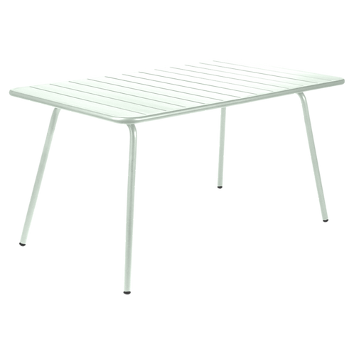 Luxembourg Bord 143x80 - FROSTED LEMON