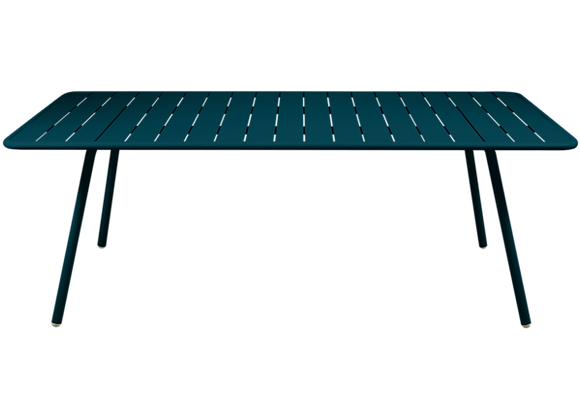 Luxembourg Bord 207x100 - ACAPULCO BLUE