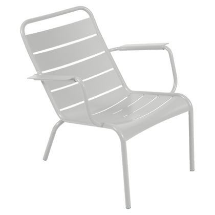 Luxembourg Low Armchair - STEEL GREY
