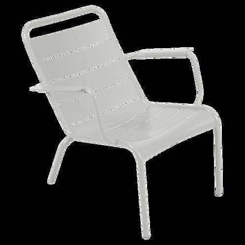 Luxembourg Low Armchair - STEEL GREY