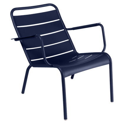 Luxembourg Low Armchair - DEEP BLUE