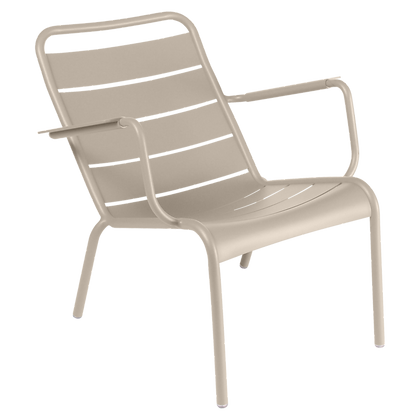 Luxembourg Low Armchair - NUTMEG
