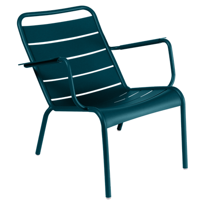 Luxembourg Low Armchair - ACAPULCO BLUE
