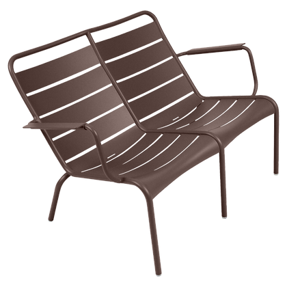 Luxembourg Duo Low Armchair - RUSSET