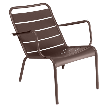 Luxembourg Low Armchair - RUSSET