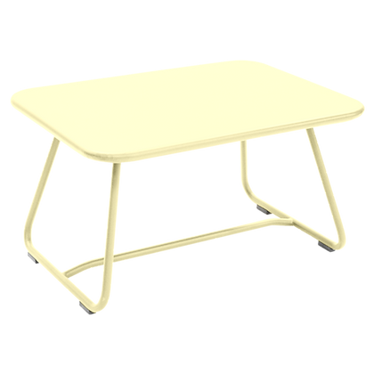 SIXTIES Low Table - FROSTED LEMON