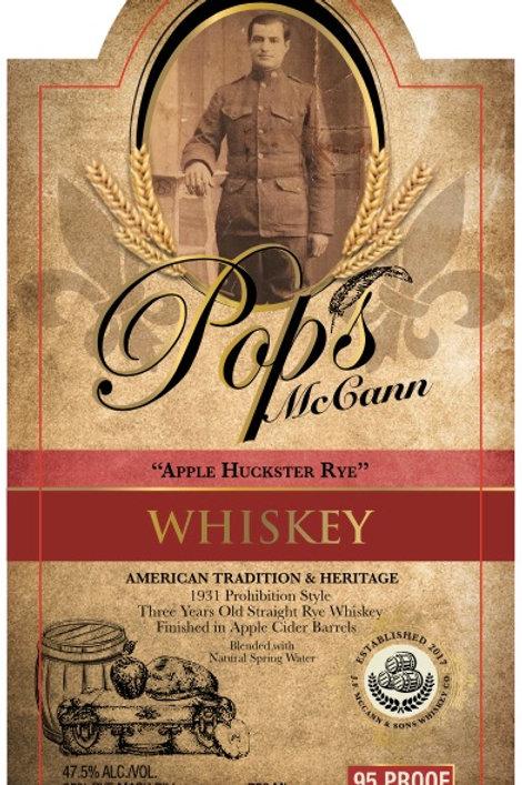 Pops McCann Apple Huckster Rye