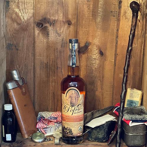 Pops McCann Feather in the Cap Bourbon