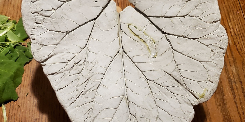 Large Concrete Leaf Sculpture 052320