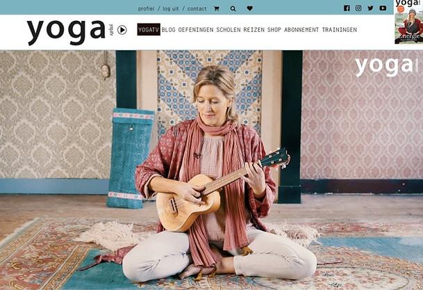 Mantra's met Liselotte op yogaTV